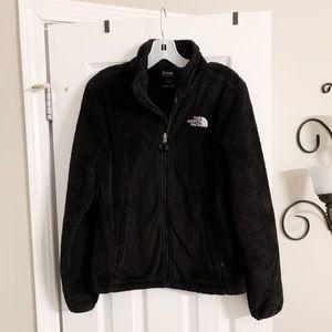 Northface Women's Fuzzy Jacket - Black